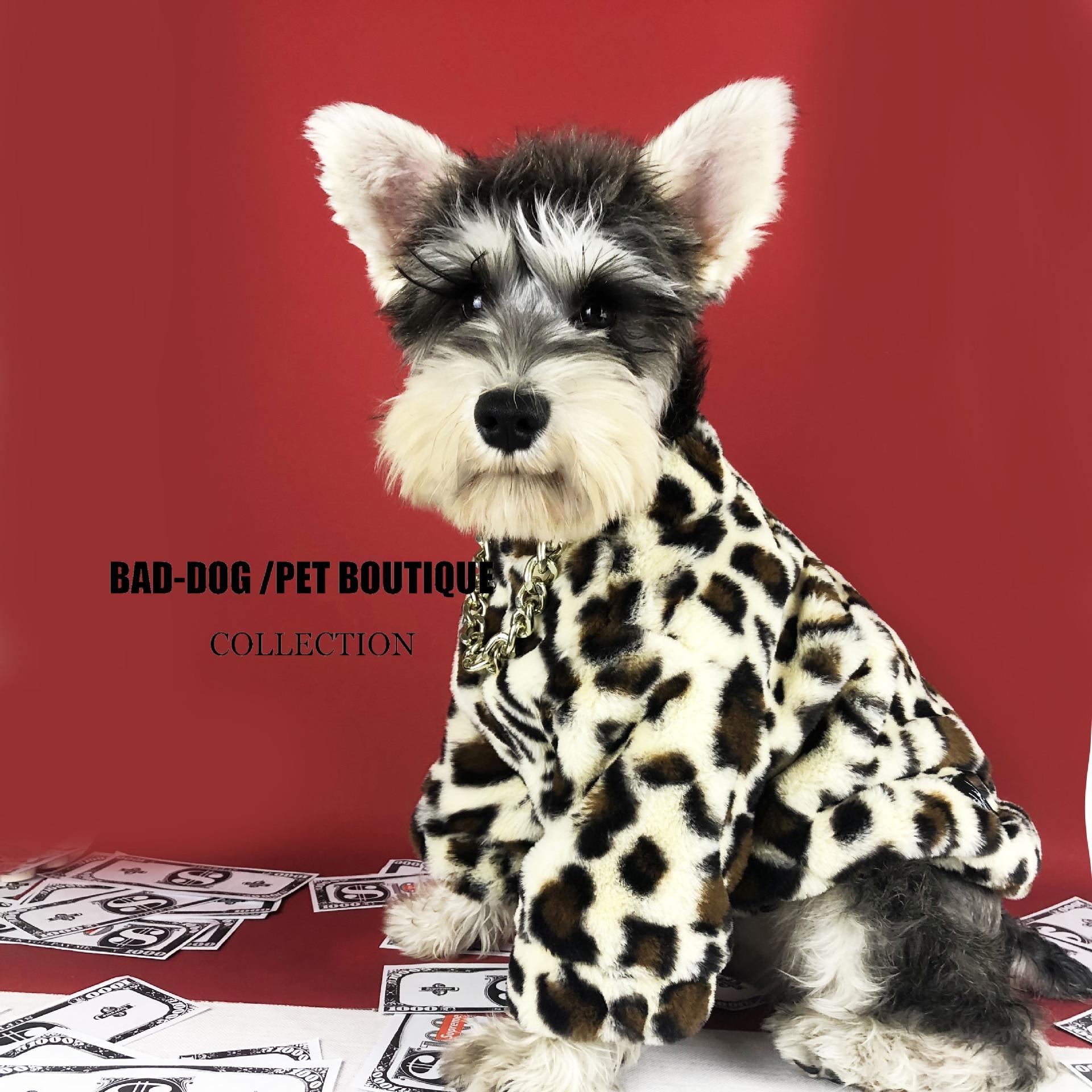 top 9 most popular dog leopard winter coat ideas and get