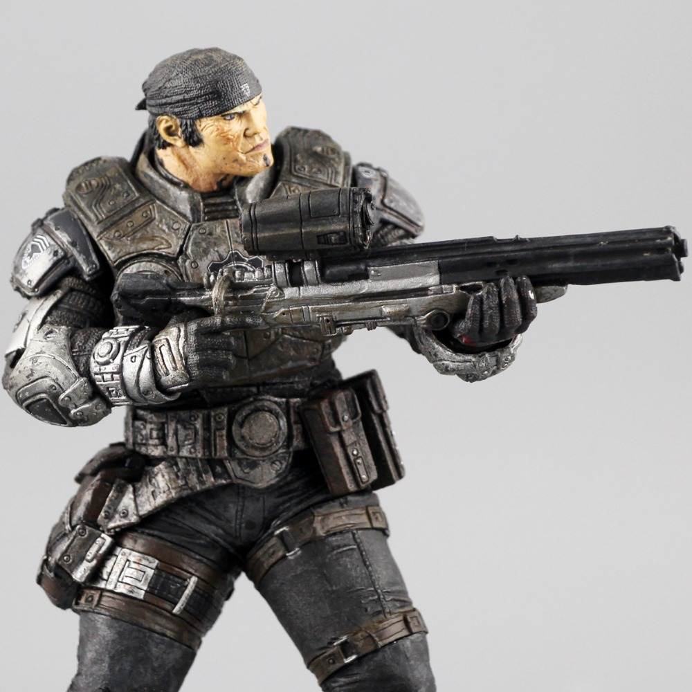 Free shipping gears of war 2 NECA originals genuine new doll model 7 inch Marcus - Marcus protagonist gears of war 2 classics [xbox 360]
