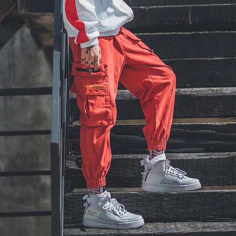Street Style Hip Hop Trousers Harem Swag Pants Punk Rave Woman Male Dancing Pant New 2019 Women Spring Plus Size Pants