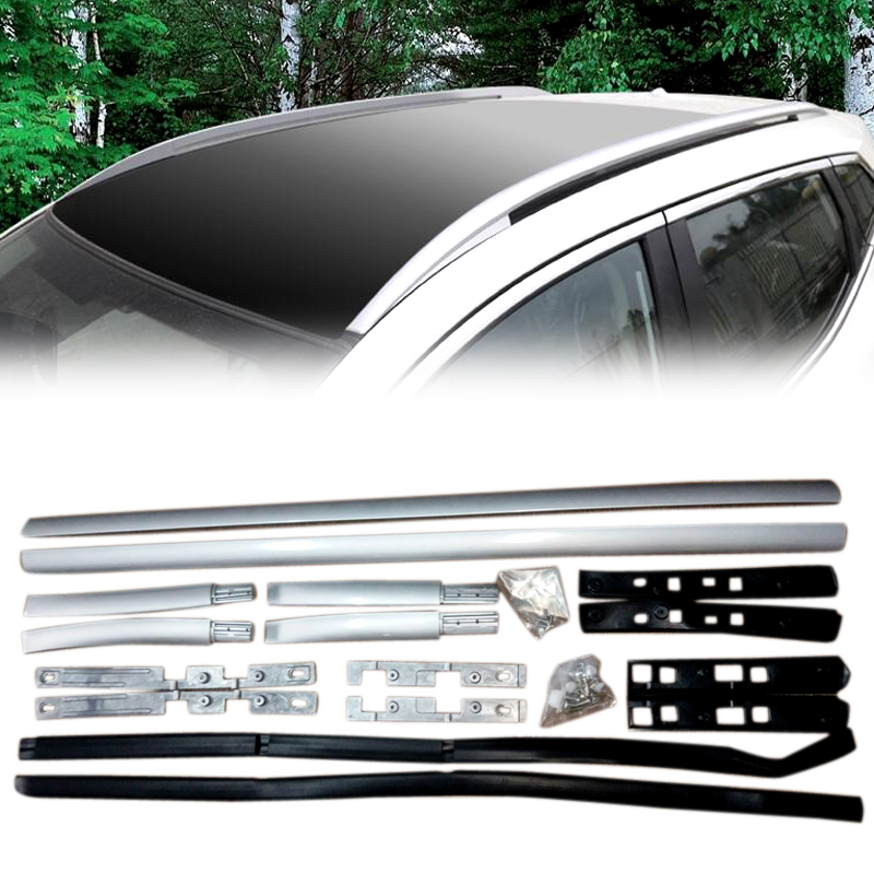 For Nissan Qashqai J11 2014 2015 2016 2017 2018 Car Roof Rack Luggage Carrier Side Bars Rails Car Styling