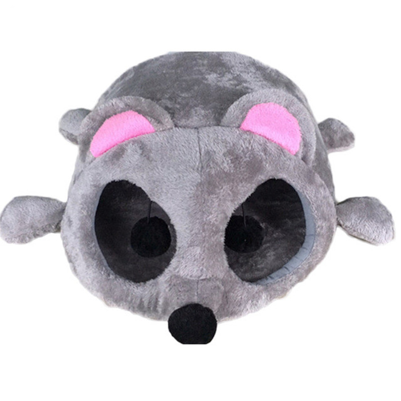 New Cute Cartoon Grey Mouse Design Mat Dog House Dog Beds For Small Medium Dogs Pet Products House Windproof Pet Cat Beds