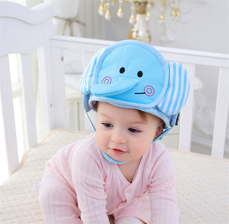 Baby Head Protection Pad Infant Anti Crash Pad Cute Nursing Drop Resistance Cushion Baby Room Walk Headrest Pillow