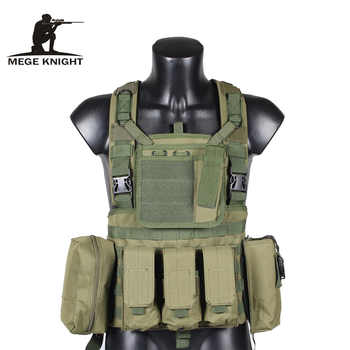MEGE Tactical Vest Military Airsoft Camouflage Uniform, Combat Vest Amy Clothing US Navy Seal Colete Tatico Python Chaleco - DISCOUNT ITEM  36% OFF All Category