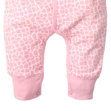 Set of 3 Cotton Romper Pajamas for Babies with Cute Prints