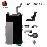 Hot Truth Full Set Repair Parts For IPhone 6 LCD Display Metal Bracket Front Camera Ear
