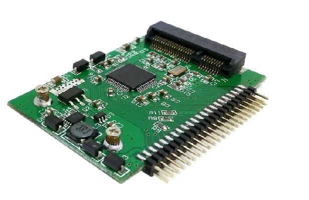 Low profile mSATA mini PCI-E SATA SSD to 2.5 IDE 44pin adapter card factory price mosunx 2 in 1 mini pci e 2 lane m 2 and msata ssd to sata iii 7 15 pin adapter drop shipping drop shipping