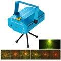 Mini LED Padrão Ponteiro Laser Disco Party Light Stage Lighting Projetor Show de Luzes Projetor Laser RG Remoto IR