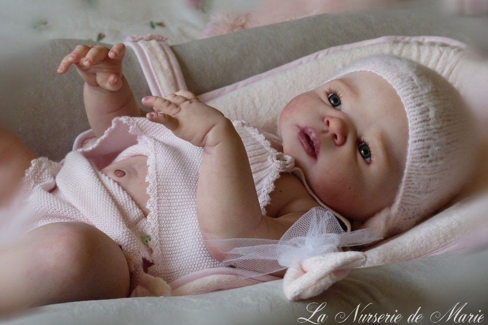 Dolls Kits For 20-22 Inches Silicone Reborn Baby Lifelike Safe Vinyl Baby Accessories Head Arms Legs