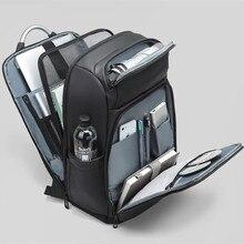 15.6Inch Laptop Backpack For Men  bag Water Repellent Functional Rucksack USB Charging Port Man Travel Computer Tablet Backpacks