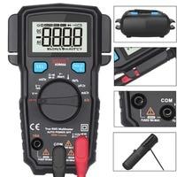 Portable Digital Multimeter BSIDE ADM66 Auto Range True RMS Multimetro DC AC Voltmeter Ammeter Thermometer Ohm diode Tester