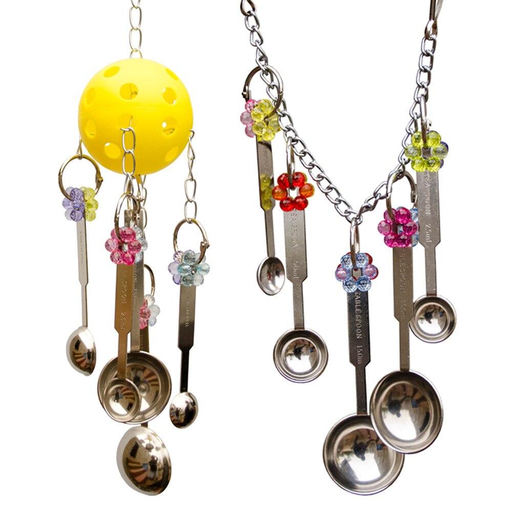 Perroquets jouets pour oiseaux accessoires Cockatiel et perche perruche jouet Cage décoration jouet perroquet vogel