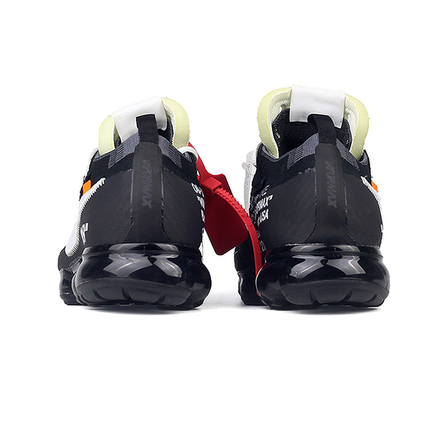 Official Original Limited Nike X OFF-WHITE AIR VAPORMAX OFW Men'S Running Shoes Outdoor Classic Sports Shoes Athletic AA3831 4