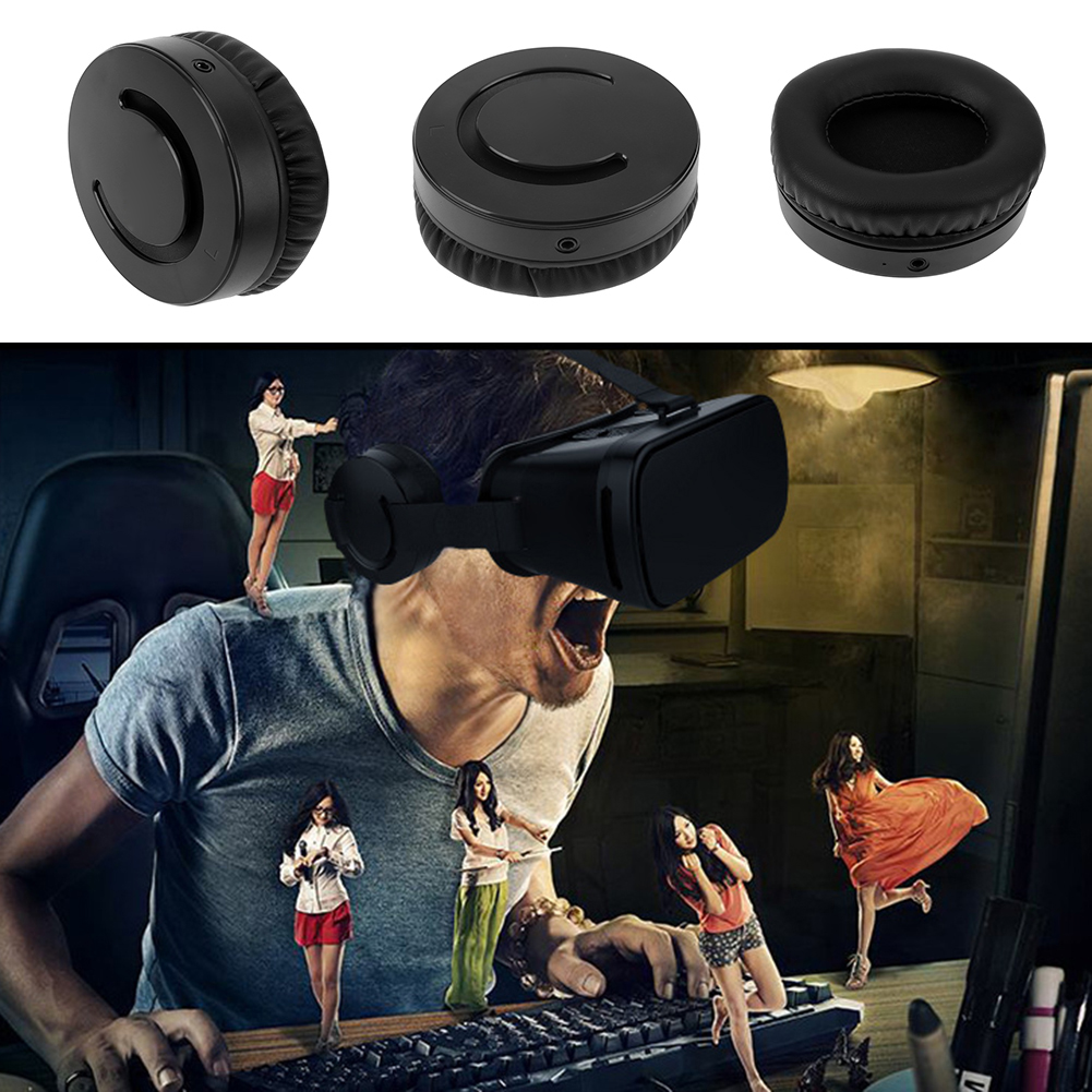 For VR glasses or VR box MSAS101 Wired Head Mount Earphone Headset VR Glasses VR Box Accessory Part Wired Headphone dji spark glasses vr glasses box safety box suitcase waterproof storage bag humidity suitcase for dji spark vr accessories