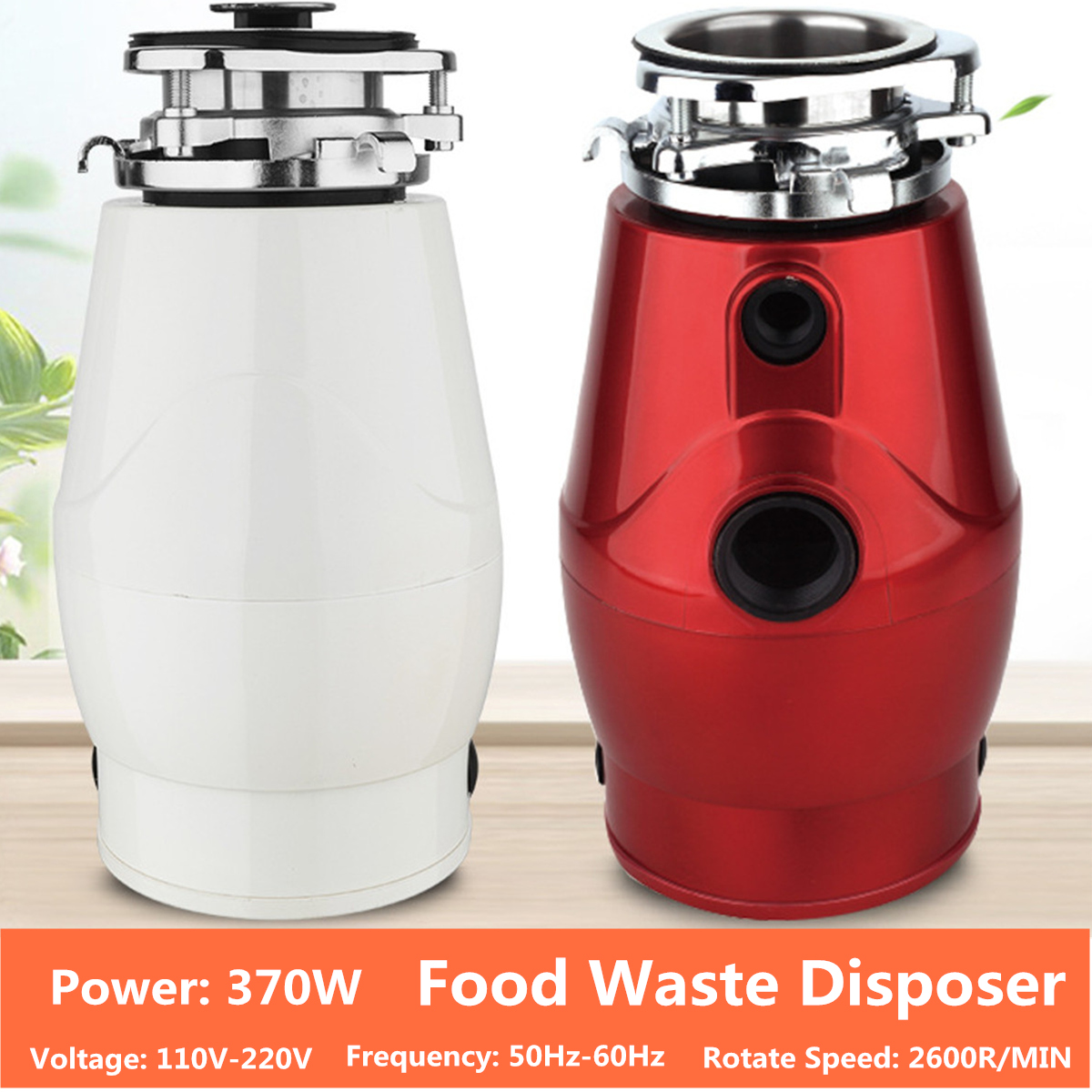 1.5L Household food waste processor kitchen garbage disposal crusher stainless steel grinder food slag crushing machine EU цена