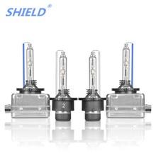 Щит HID лампы D1S D1R D2S D2R D3S D3R D4S D4R ксеноновая HID-лампа автомобильные лампочки глобуса 35 Вт 3000 K 4300 K 5000 K 6000 K 8000 K 12000 K вспышка