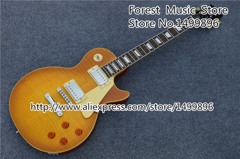 Top Selling Collectors Dream 1959 R9 LP Standard Electric Guitar BurstBucker Humbucking Style Pickups Left Handed Available forestwind new arrival hot selling junior standard style pickups electric guitar 2 pic free shipping