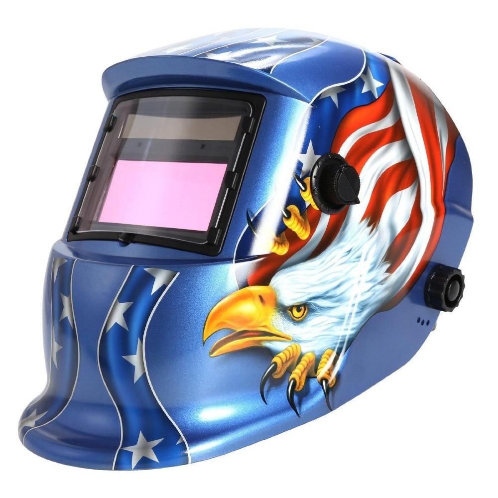 Solar Auto Darkening Welding Helmet Arc Tig Mig ...