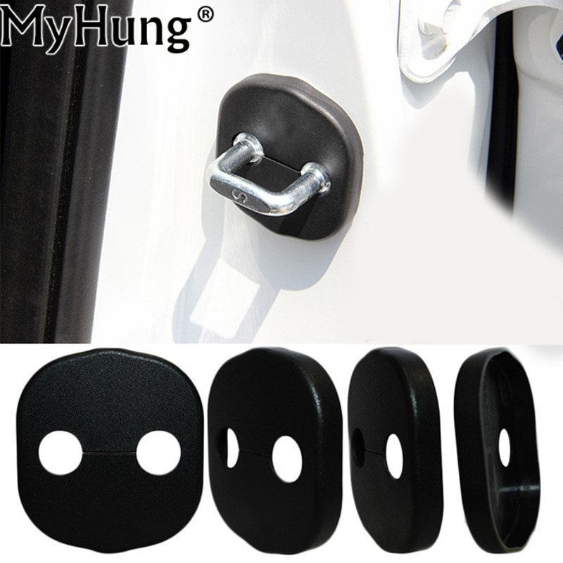 Car Door Lock Decoration Cover Door Lock Protective Cover Door Lock Cover For KIA K3 K5 FORTE SORENTO 2009 2010 2011 2012 2013