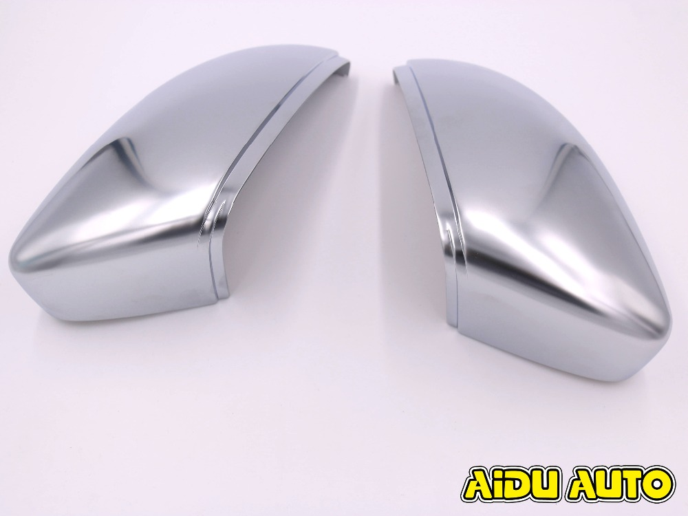 Rearview Mirror Case Side Mirror Chrome Matt Cover For VW Passat B7 CC Jetta MK6 Scirocco EOS Beetle abs mirror cover chrome matt painted cap side mirror housings for volkswagen jetta golf 5 passat b6 ct