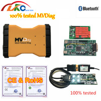 Latest 2016.00 TCS Pro with bluetooth MVD Multi Vehicle Diag Auto Scanner for CARS/Trucks/Generics 3 in 1 Diagnostic Tool