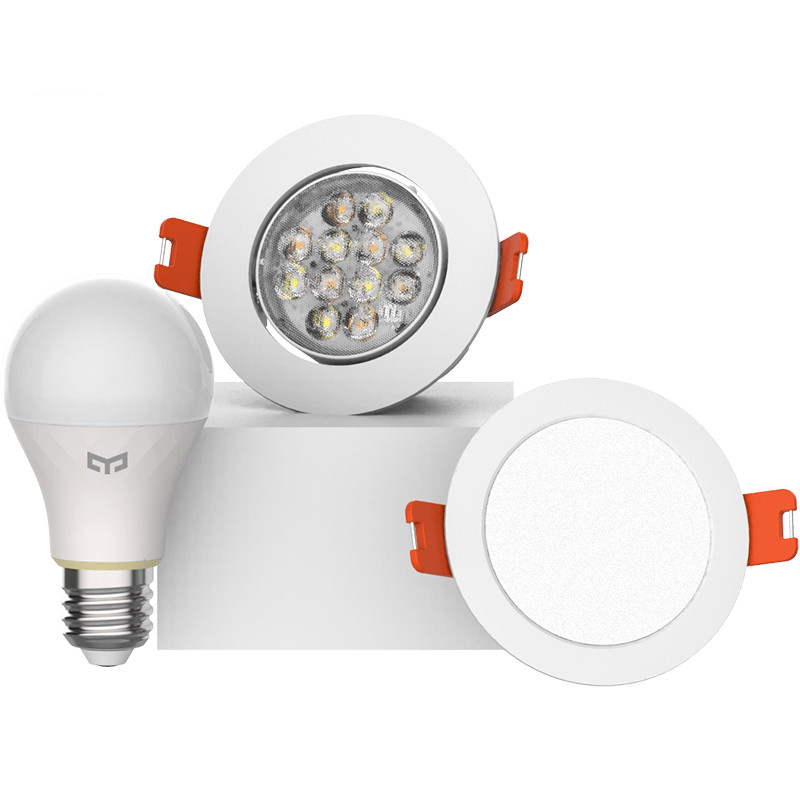 Image 5 - Xiaomi mijia yeelight bluetooth Mesh Version smart light bulb and downlight ,Spotlight work with yeelight gateway to mi home app-in Smart Remote Control from Consumer Electronics