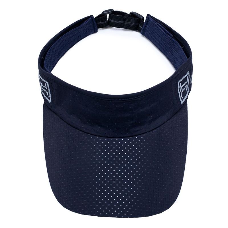 d41cee724c1b4 Summer Breathable Empty Top Golf Visor Hat Baseball Cap 2018 New Outdoor  Sports Quick Drying Men Women Bone Snapback Sun Hats -in Baseball Caps from  Apparel ...