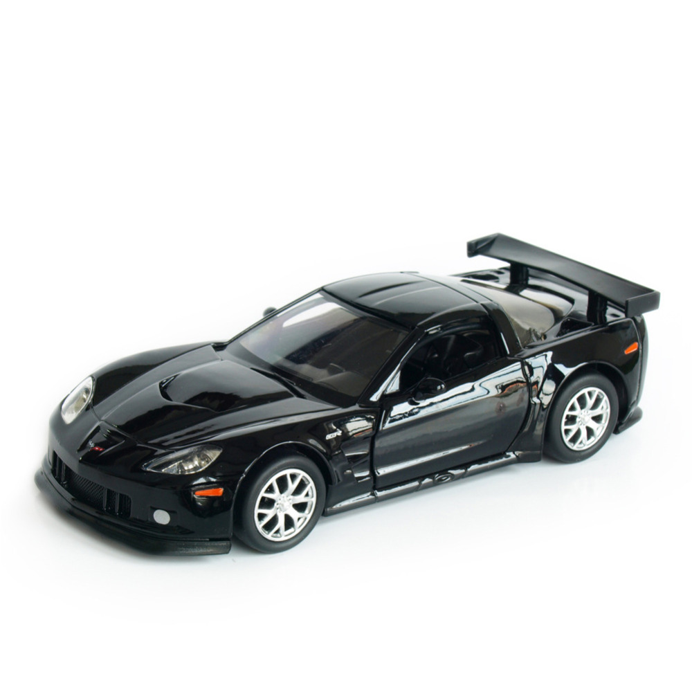 Rmz city corvette gz554003 1 32 36 scale 5 inch diecast vehicles model car toys best gift for children black yellow in diecasts toy vehicles from toys