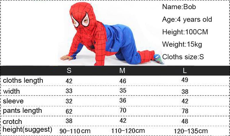 3 styles kids baby superhero spider man superman batman spiderman cosplay carnival halloween costume child accessories for kids 13
