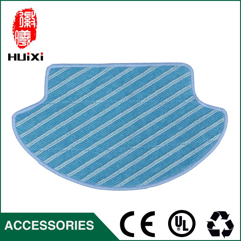 1pcs Cleaning Mop Cloth 269*157*187mm Replacement Dishrag for DG710 Robot Vacuum Cleaner Parts to House Clean 12pcs lot high quality robot vacuum cleaner wet mop hobot168 188 window clean mop cloth weeper vacuum cleaner parts