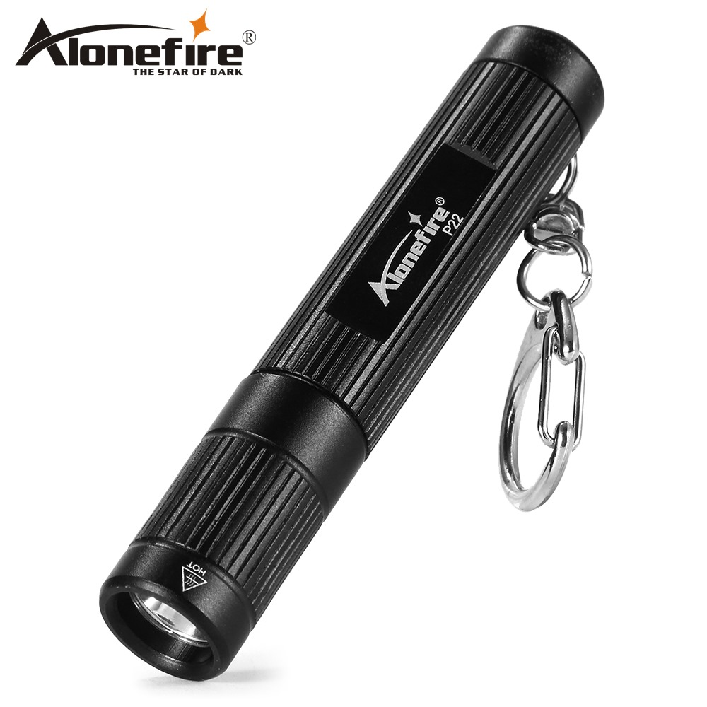 AloneFire P22 LED Torch Flashlight CREE XPG Super Mini LED Keychain Flashlight For AAA Battery