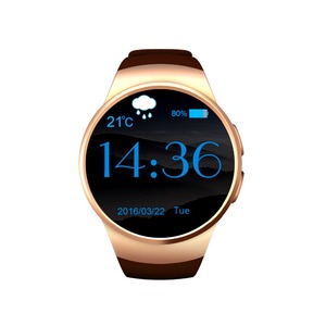 Smartch Smart Watch phone KW18 Bluetooth 4 0 smartwatch with Heart Rate Monitor Sleep monitor bluetooth>