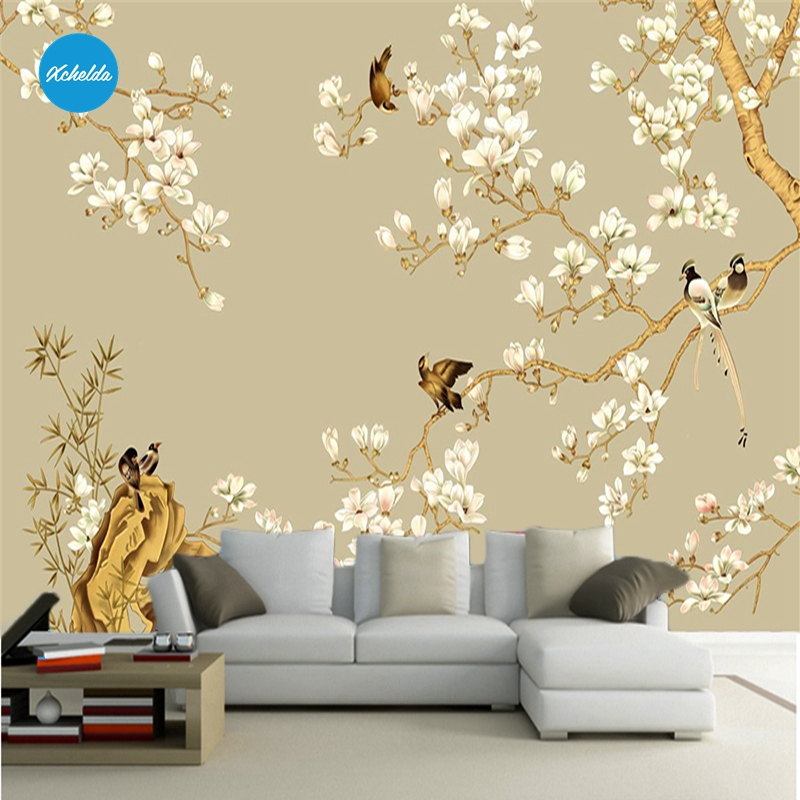 XCHELDA Custom 3D Wallpaper Design Colorful Flower Photo Kitchen Bedroom Living Room Wall Murals Papel De Parede Para Quarto kalameng custom 3d wallpaper design street flower photo kitchen bedroom living room wall murals papel de parede para quarto