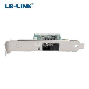 Image 2 - LR LINK 6230PF BD gigabit ethernet BIDI רשת מתאם 1000 Mb pci express lan כרטיס שולחן עבודה עבור מחשב מחשב אינטל I210 Nic