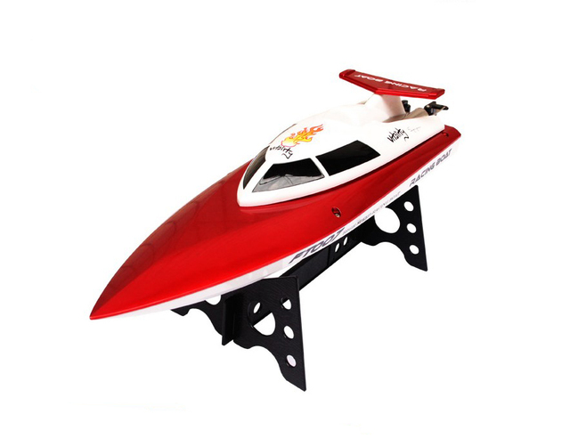 "High quality FT007 2.4G 4CH 20km/h High Speed Radio Control RC Boat Feilun FT007 ""VS"" FT009 FT012"