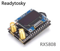 NEW High Quality RX5808 Open Source 5 8G 40CH Integrated Receiver With OLED Special For Fatshark