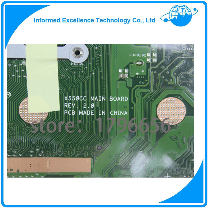 FOR ASUS X550LC Laptop Motherboard REV2.0 with I5 Mainboard integrated Notebook Fully Tested Mobo