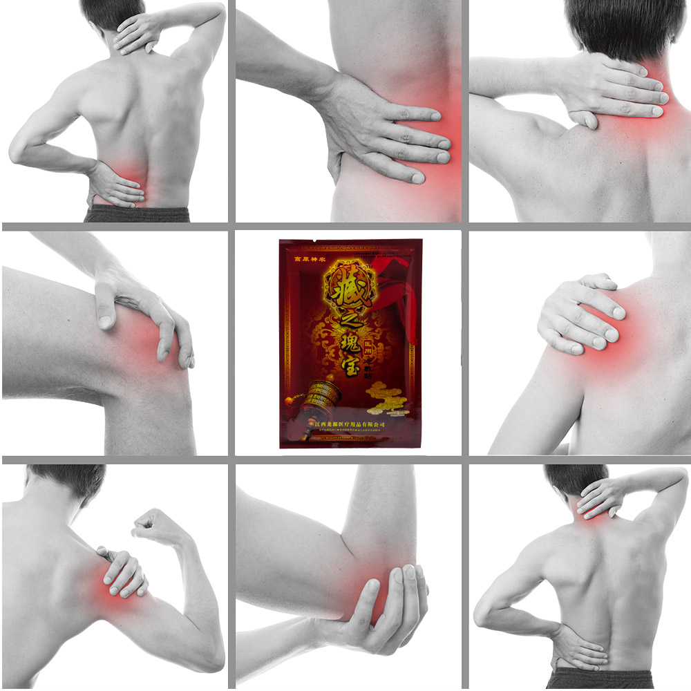 120Pcs 15Bags Chinese Herbal Far infrared Therapy Sticker Muscle Pain Relief Plaster for Rheumatism Arthritis back massage D1090 in Patches from Beauty Health