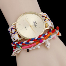 New Fashion 2016 Watches Women Casual Analog Bracelet Watch Ladies Shell pendant Quartz Dress Wrist AC104