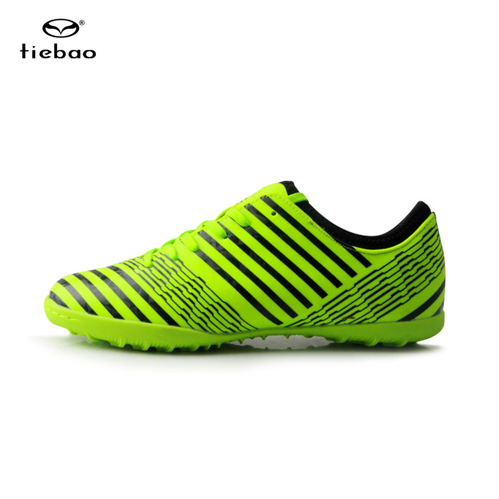 TIEBAO 2017 New Soccer Shoes Men Outdoor TF Turf Sole Football Soccer Boots Football Shoes Adults Athletic Soccer Cleats tiebao new men outdoor grass soccer shoes cleats for adults children sports football shoes brand football boots male size 35 44