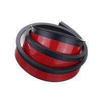 2x 1 5 m rueda de goma para coche arco de protección molduras guardabarros ajuste Universal Negro|Accesorios de neumático| |  -