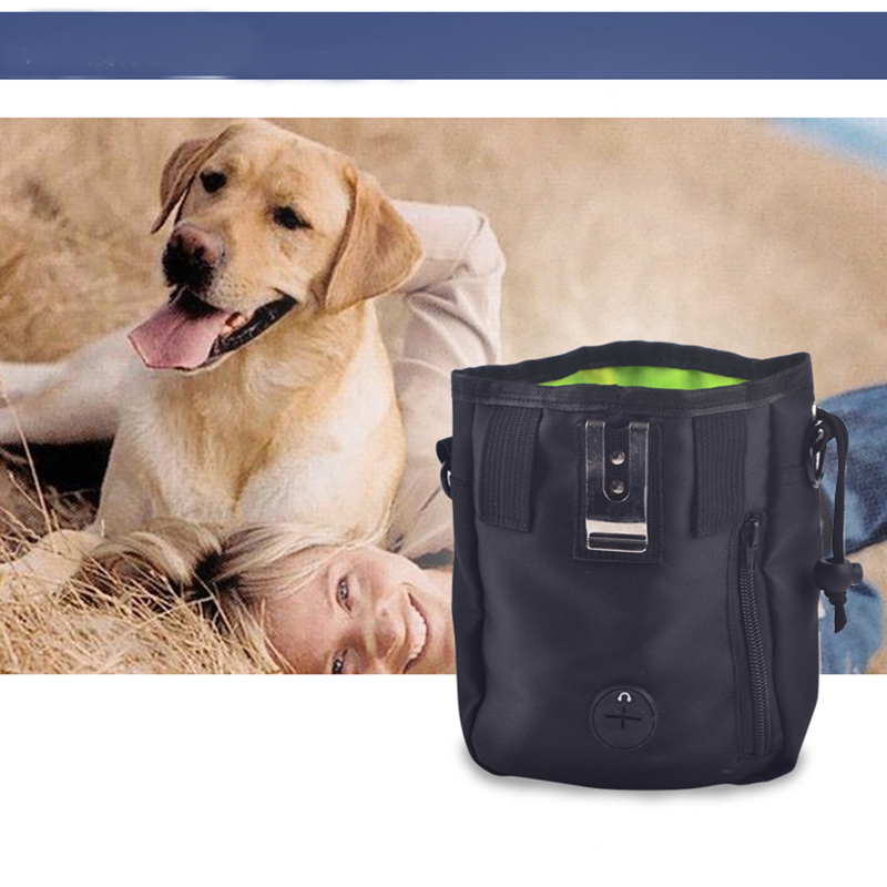 Pet Dog Pouch Dog Training Treat Bags Portable Detachable Doggie Pet Feed Pocket Pouch Puppy Snack Reward interactive Waist Bag