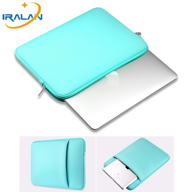 Hot Zipper Computer Sleeve Case For Macbook Laptop AIR PRO Retina 11 12 13 14 15 13.3 15.4 15.6 inch 3