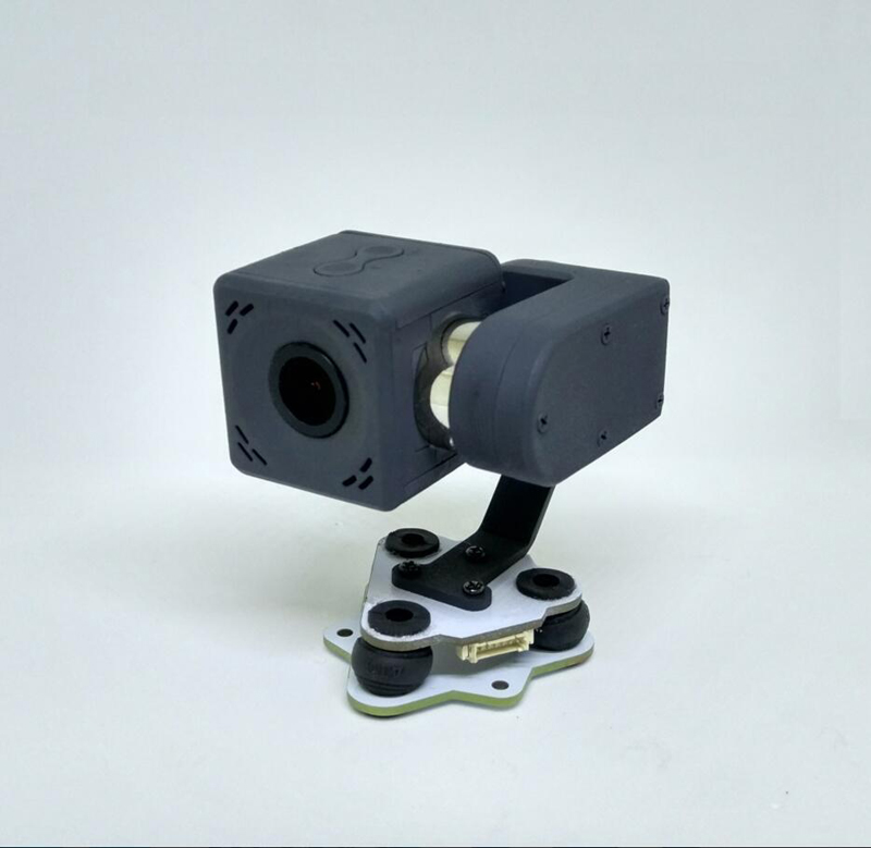 New FPV Camera Brushless Gimbal Camera Cam Light 80g 2K/30fps PMW Control Optical Lens 140 Degree PAL/NTSC Fr Fixed Wing Quad цена