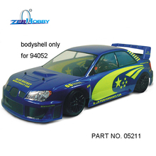HSP RACING CAR SPARE PARTS ACCESSORIES BLUE ROCKER BODYSHELL OF 1/5 SCALE ON ROAD RALLY RACING CAR 94052 (PART NO. 05211, 05212)