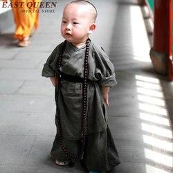 Vesti monaco buddista bambini shaolin monaco vestiti del bambino monaco buddista abbigliamento AA1918