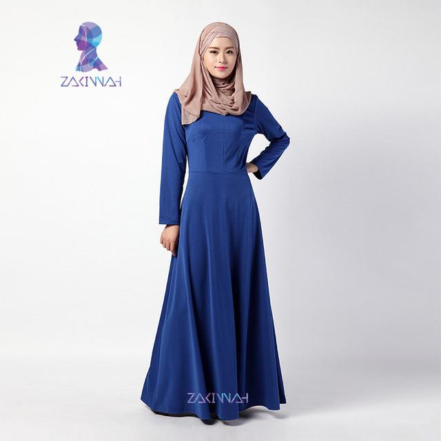 Nueva Llegada de Las Mujeres Abaya en Dubai Kaftan Musulmán Islámico Turco Moda Abaya Ropa Islámica