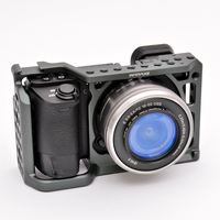 Photography Equipment Accessories Aluminum Corrosion Resistant Rabbit Camera Video Cage for Sony A6000 A6500 A6300