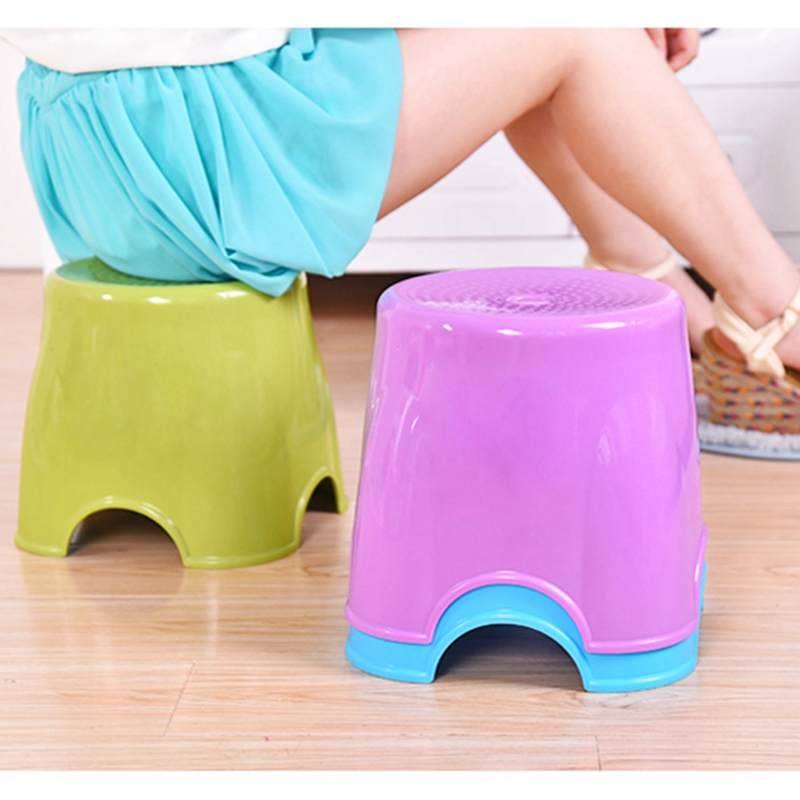 creative fashion small Thick plastic stool, outdoor children's Environmental protection child stool bench Fishing stool stool bamboo bamboo portable folding stool have small bench wooden fishing outdoor folding stool campstool train
