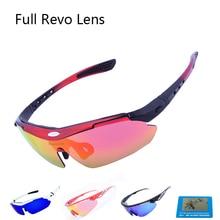 Hot Sale Full REVO Road MTB Bike Bicycle Sunglasses Mens 5 lens Polarized Cycling Glasses Outdoor Sports Brand Ciclismo Eyewear