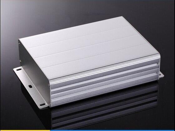 Aluminum enclosure project electric PCB box split case wall mounting box 122x45x160mm DIY electronics enclosure
